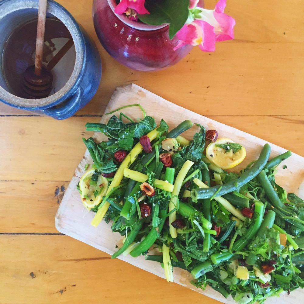 summer bean bounty salad life curator 1