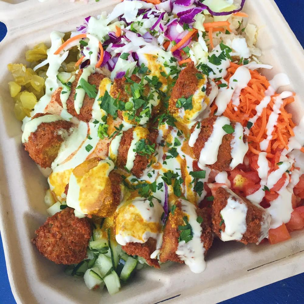 the flying felafel curated san francisco-