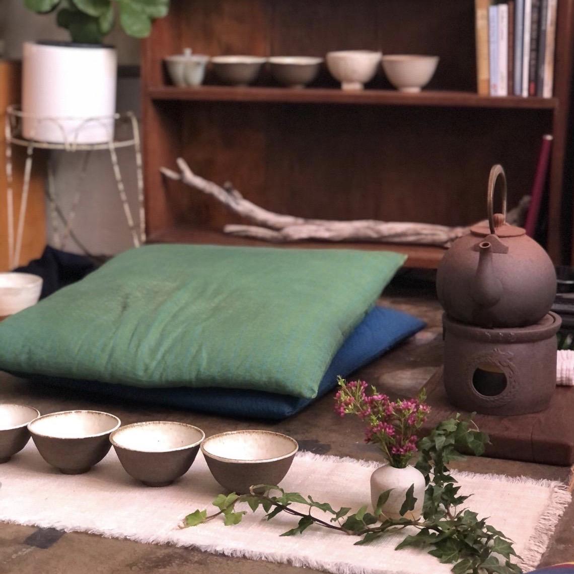 tea meditation ceremony in Fremantle, served by Andjelka Jankovic